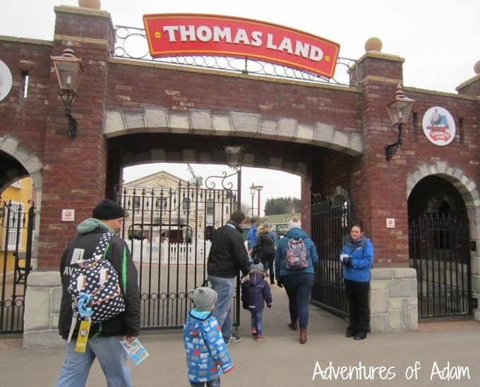 Thomas Land entrance