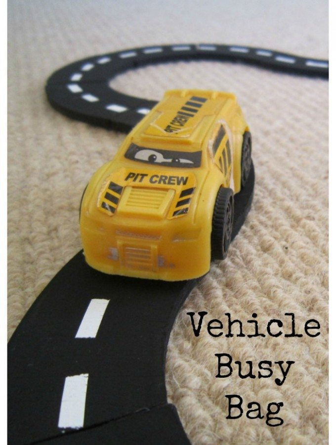 Vehicle Busy Bag