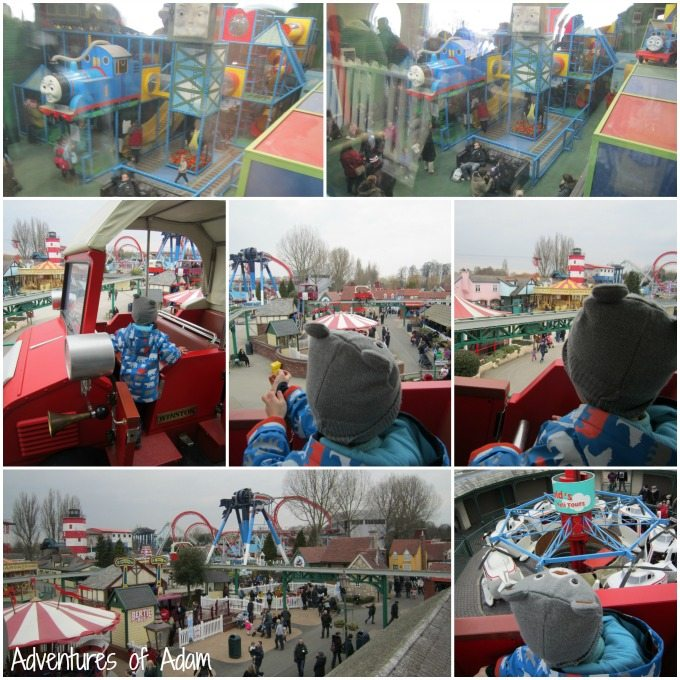Views of Thomas Land from Winston's Whistle Stop Tours