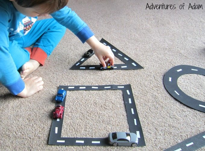 Ways to play with toy cars