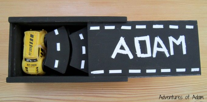 Wooden dominoes turned into a busy bag
