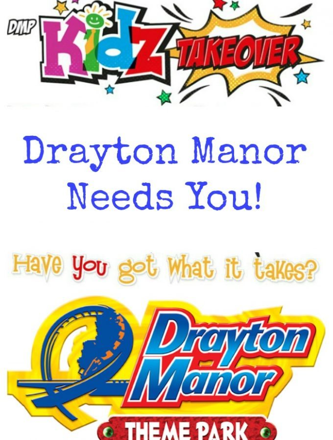 Drayton Manor Needs You!