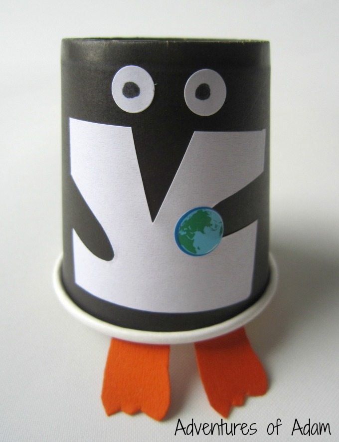 Earth Day 365 Penguin
