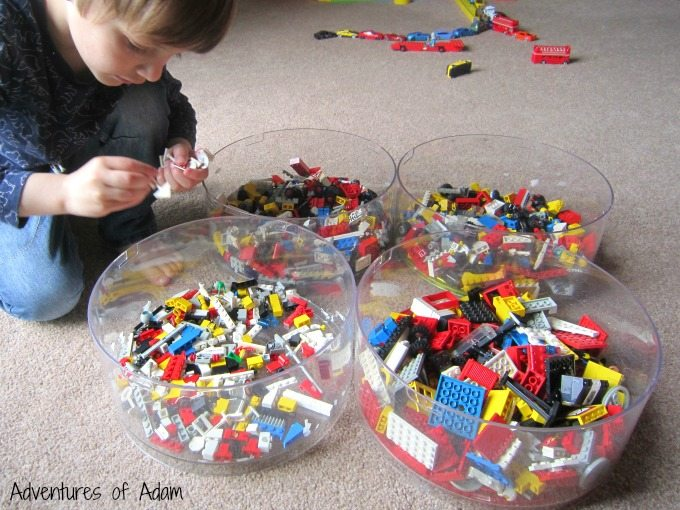 How to sort Lego