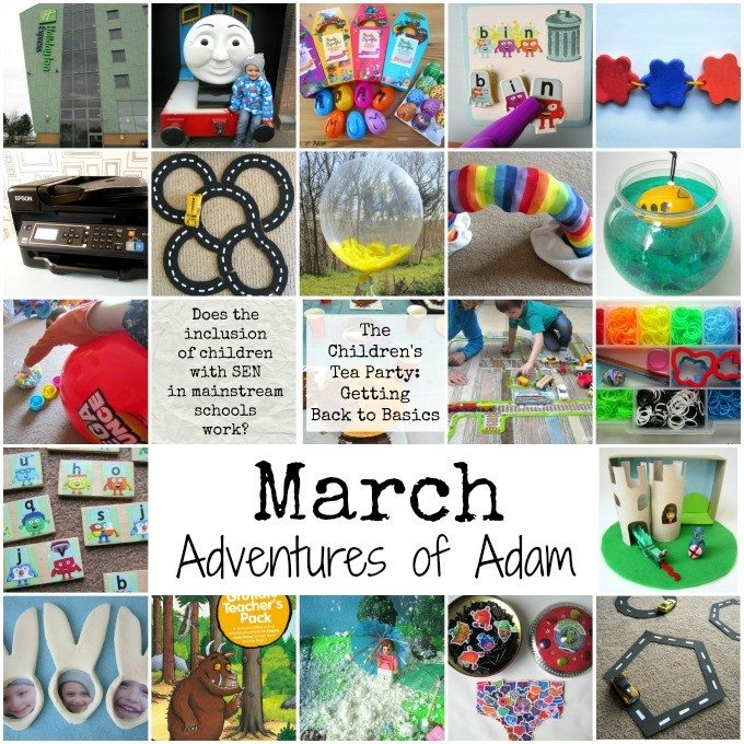 March 2016 on Adventures of Adam