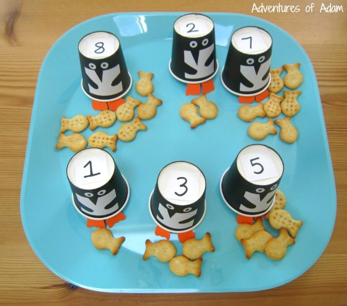 Penguin number recognition and counting
