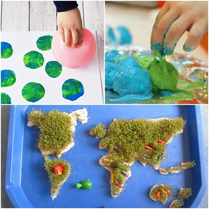 Sensory activities for Earth Day