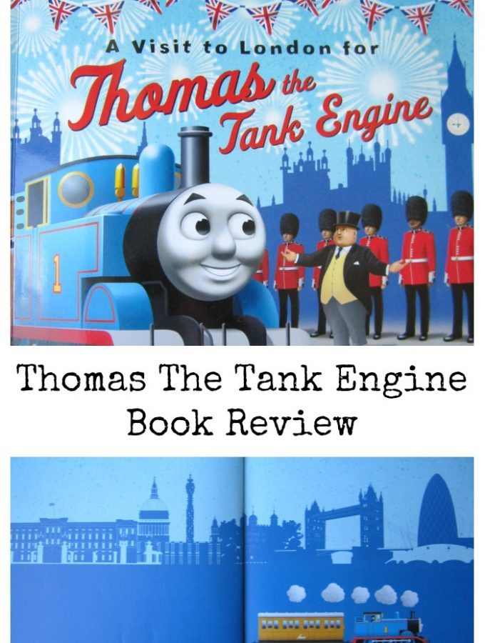 Thomas The Tank Engine – A Visit To London Book Review