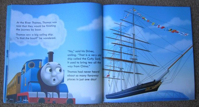 Thomas the Tank Engine and the Cutty Sark