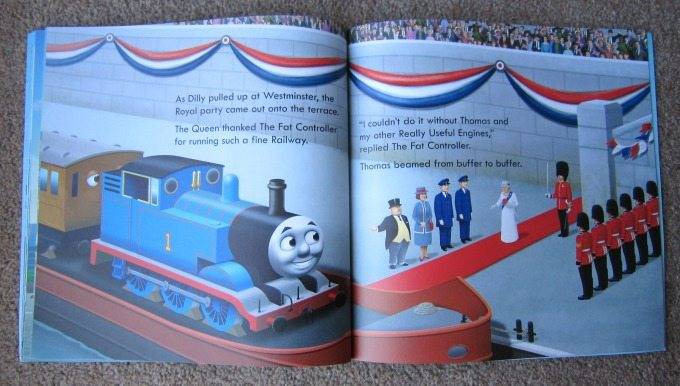 Thomas the tank engine and the Queen