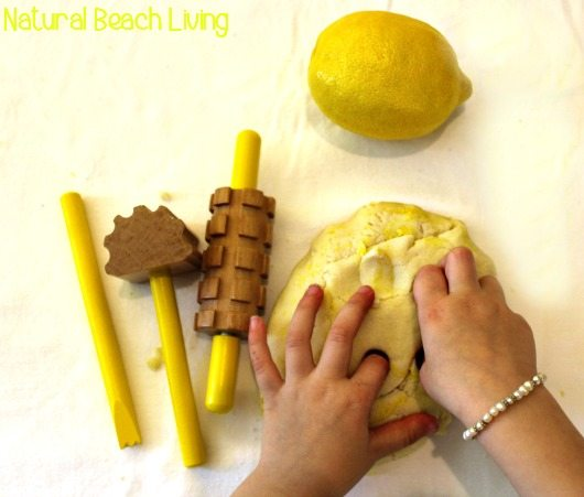 lemon-play-dough