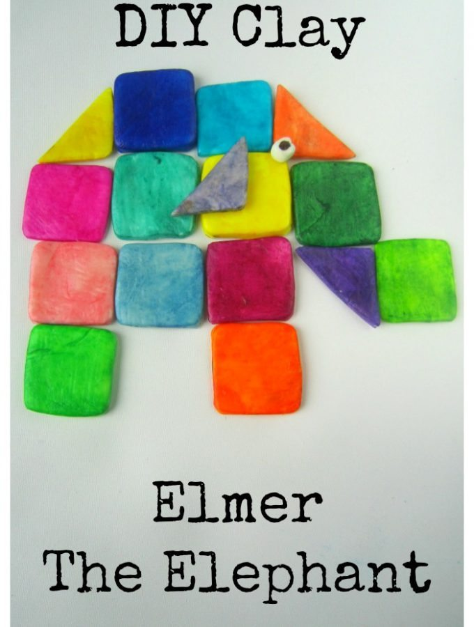 DIY Clay Elmer The Elephant