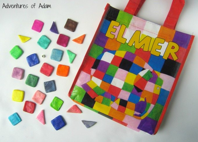 Elmer the Elephant Busy Bag