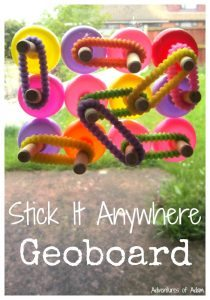 Stick It Anywhere Geoboard