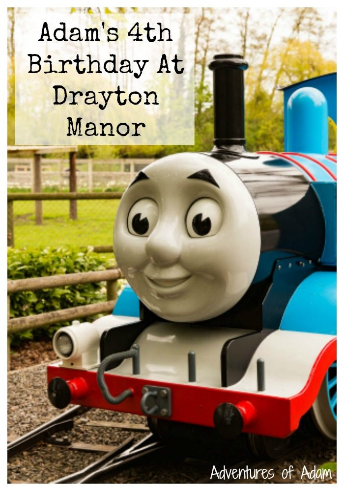 Adam's Fourth Birthday Celebrations At Drayton Manor