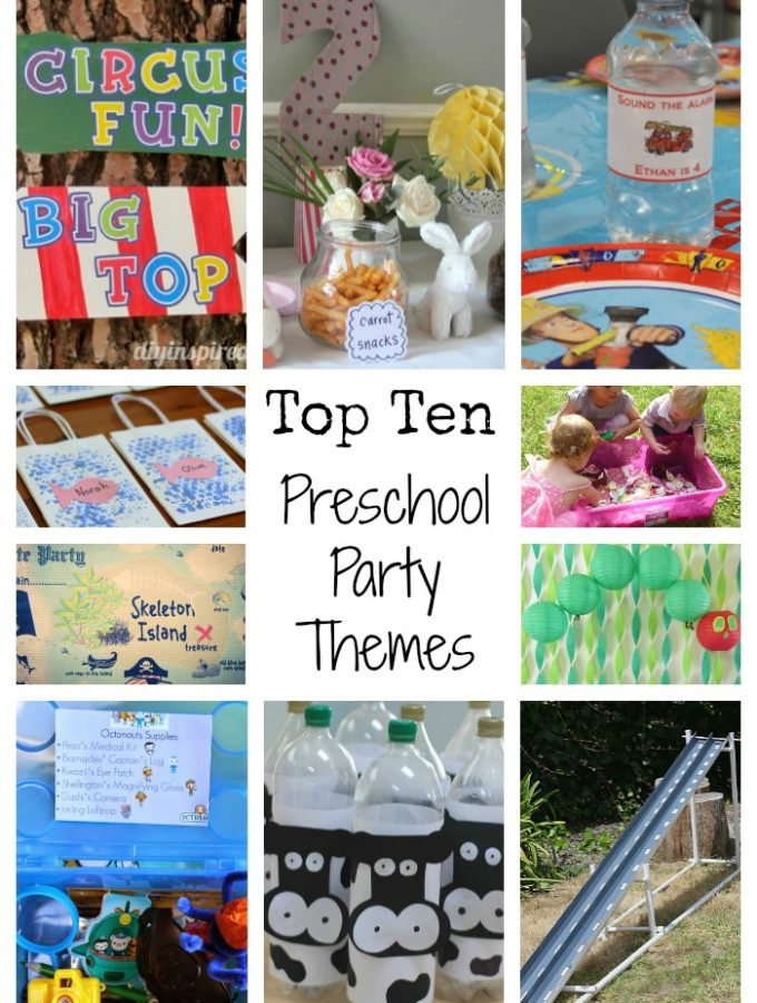 Preschool Party Themes
