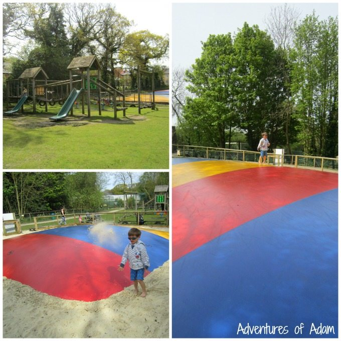 Rainforest Springs outdoor play area