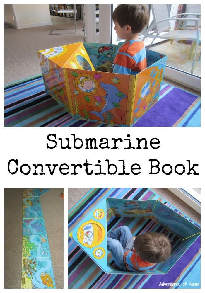 Submarine Convertible Book