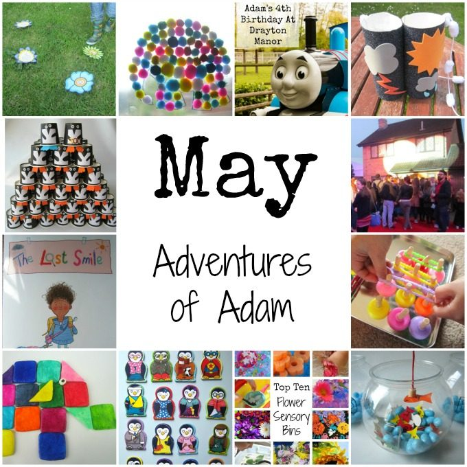Adventures of Adam in May 2016