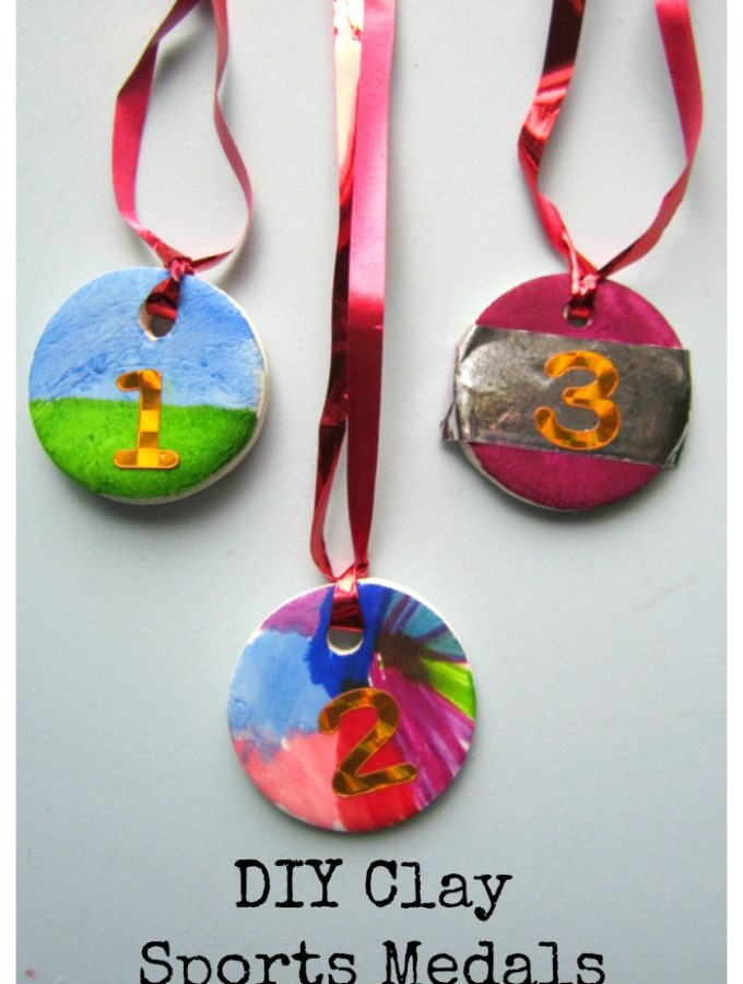 DIY Clay Sports Medals