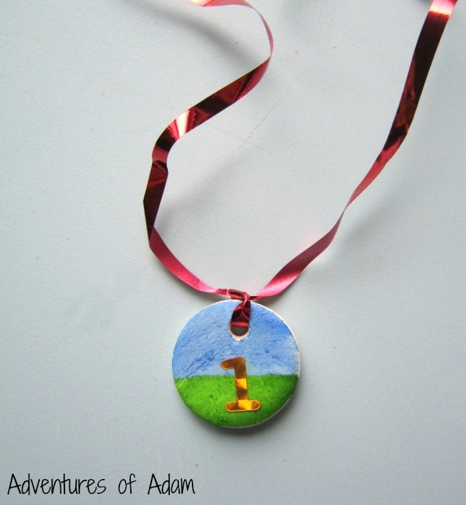 DIY Clay medal