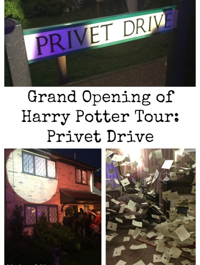 Harry Potter Tour: Privet Drive