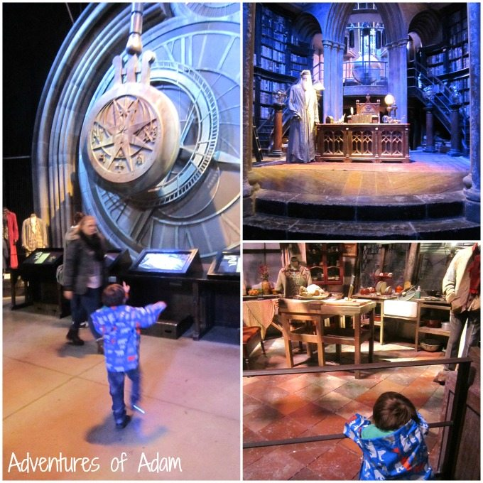 Inside the Harry Potter tour