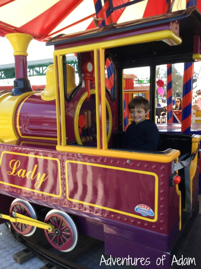 Lady at Drayton Manor