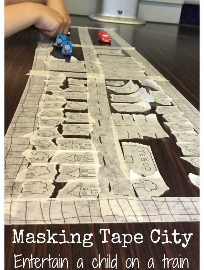 Masking Tape City