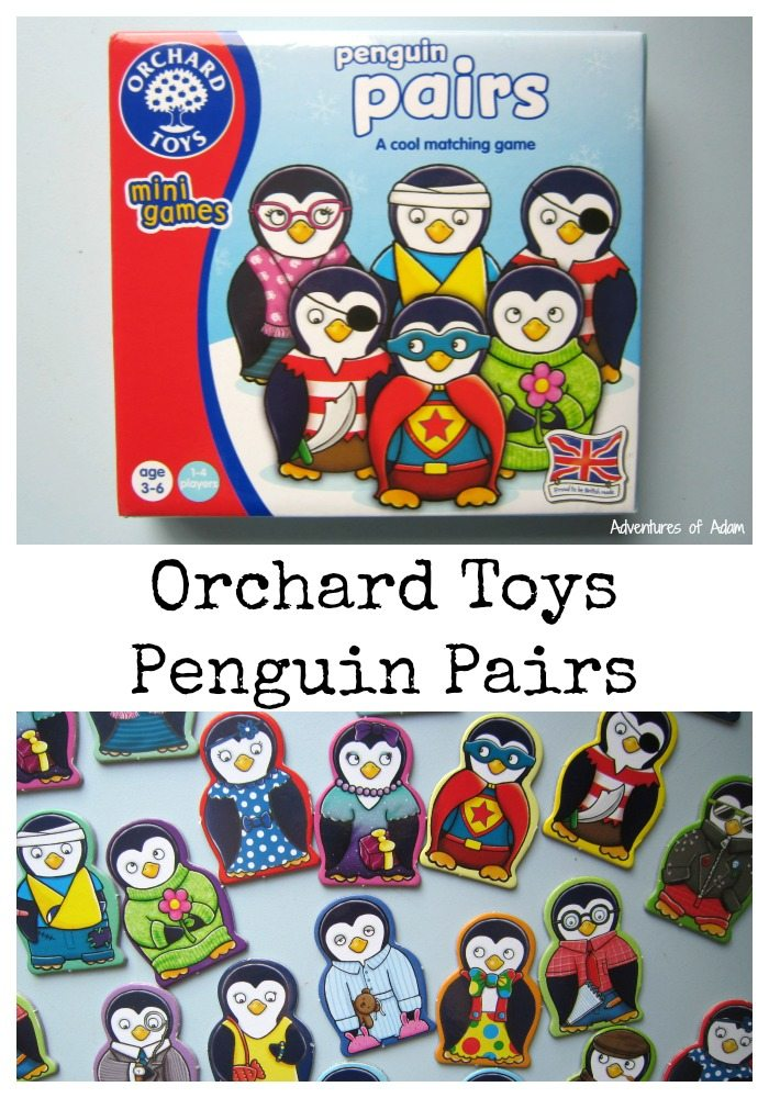Orchard Toys: Penguin Pairs