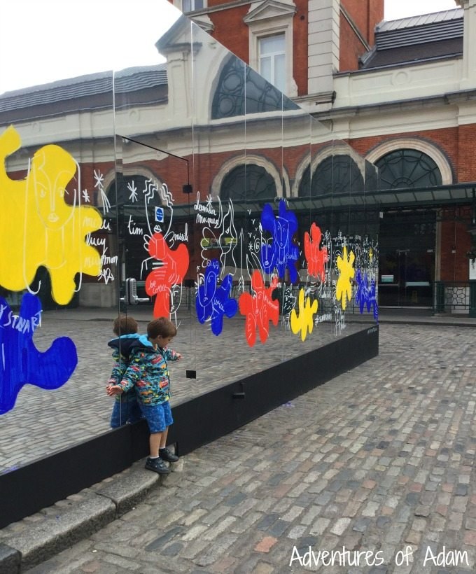 Reflect London by Jean-Charles de Castelbajac
