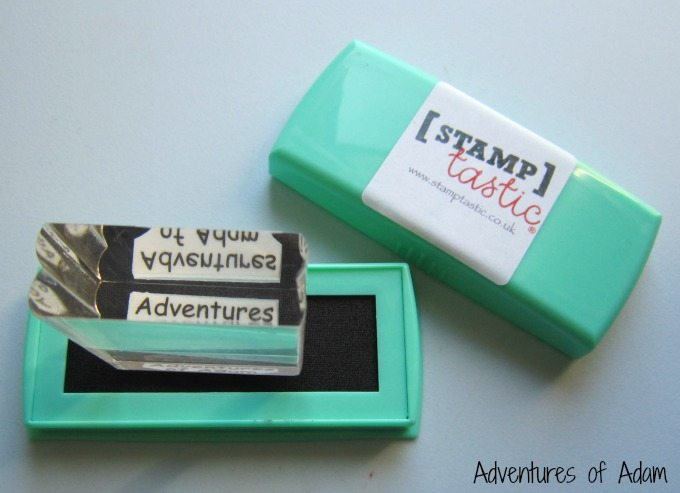 Using a Stamptastic stamp