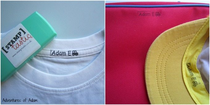 how to add name label to school clothes