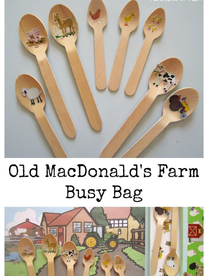 Old MacDonald's Farm Busy Bag