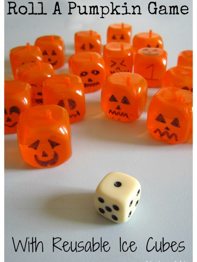 Roll A Pumpkin Game