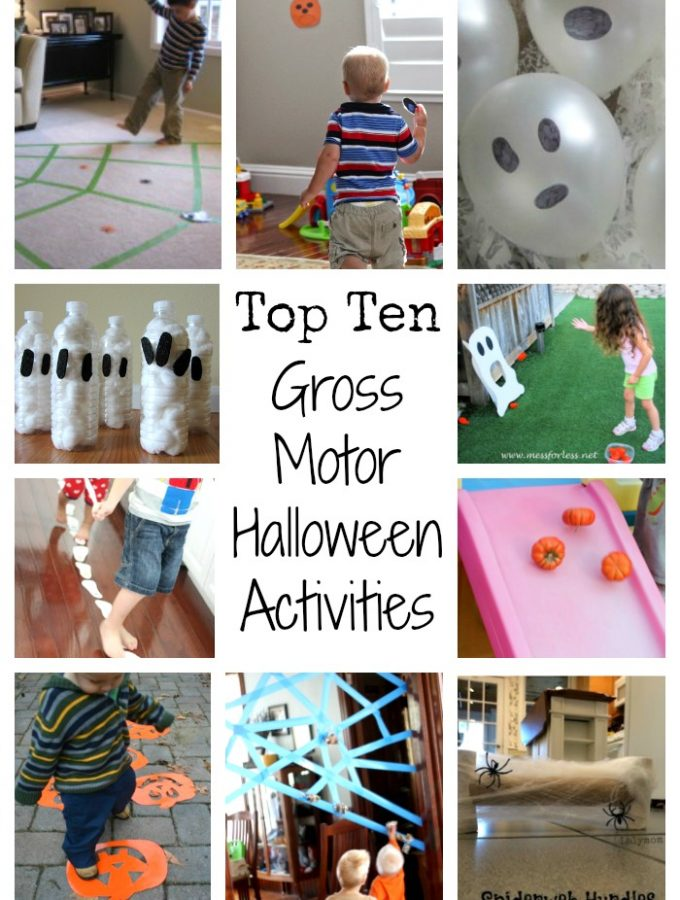 Top 10 Gross Motor Halloween Activities