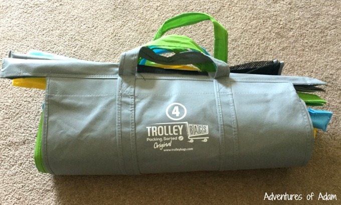 Trolley Bags are easy to store