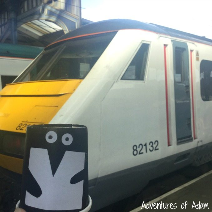 365 Penguins on the train