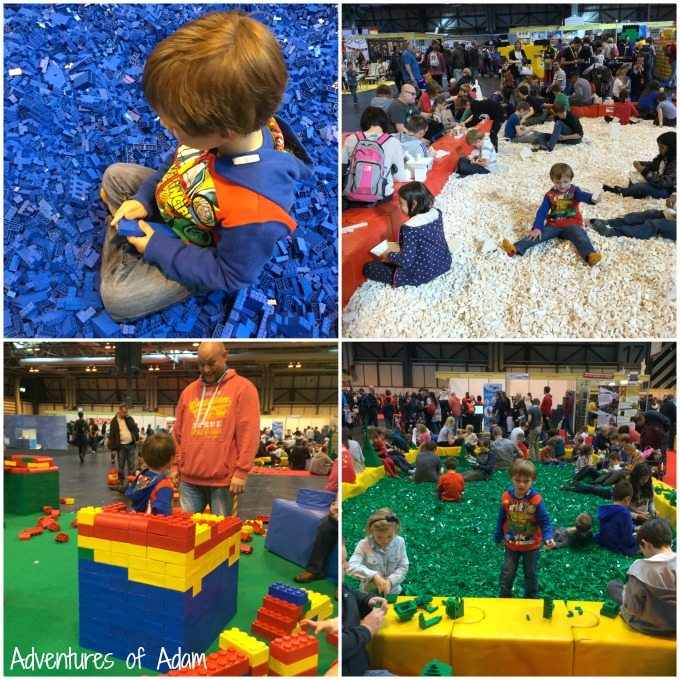 Coloured Brick Pits at BrickLive