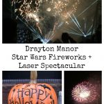 Drayton Manor Star Wars Fireworks and Laser Spectacular