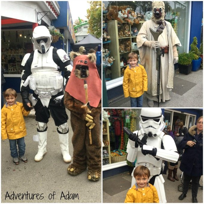 Drayton Manor Star Wars characters