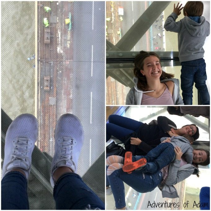 Exploring Tower Bridge glass floor