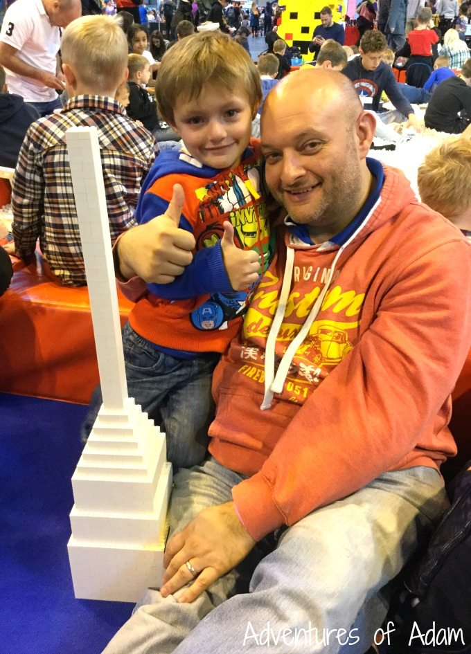 family time at BrickLive