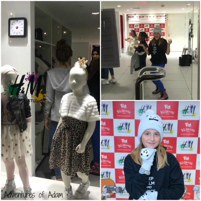 H and M Fashion Studio KidZania