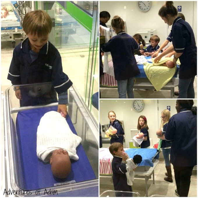 Hospital role play at KidZania