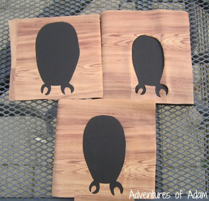Owl silhouette painting