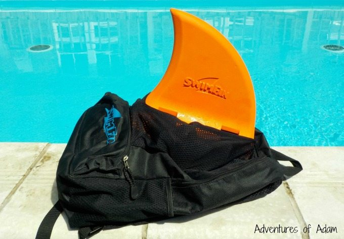 SwimFin Back Pack