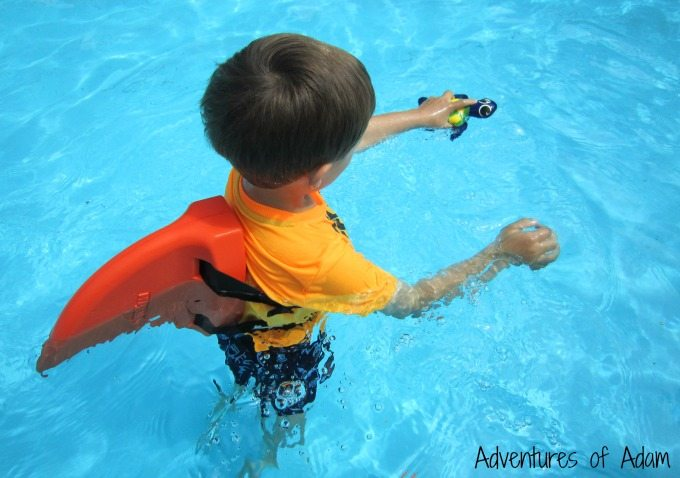Swimming toys for preschoolers