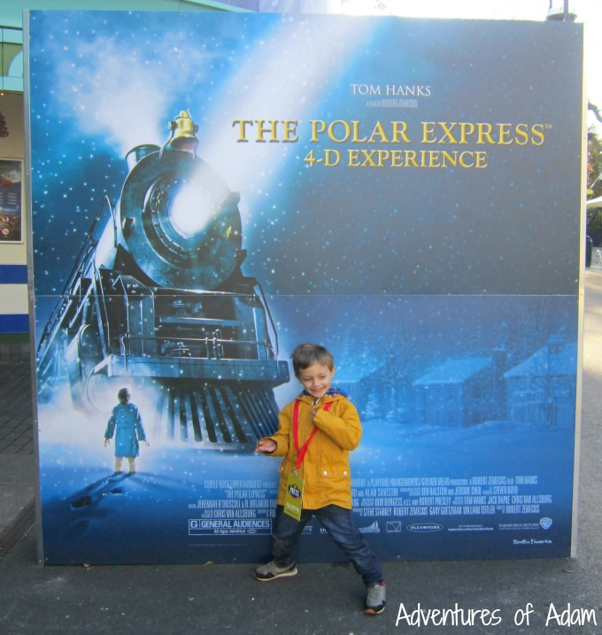 4D Polar Express at Drayton Manor