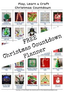 Christmas Countdown planner